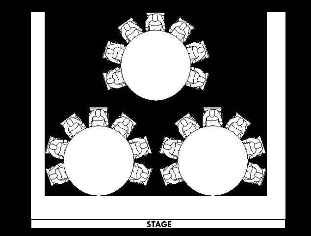 cabaret-type-seating-style