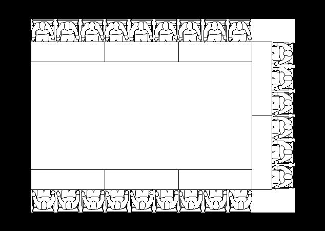u-shape-seating-style
