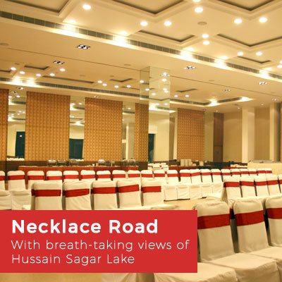 Banquet Halls at Necklace Road, Hyderabad
