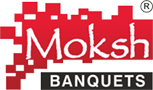 Moksh Banquets Logo